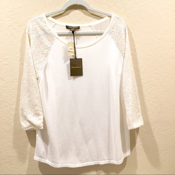 Tommy Bahama Tops - Tommmy Bahama Sequin Top